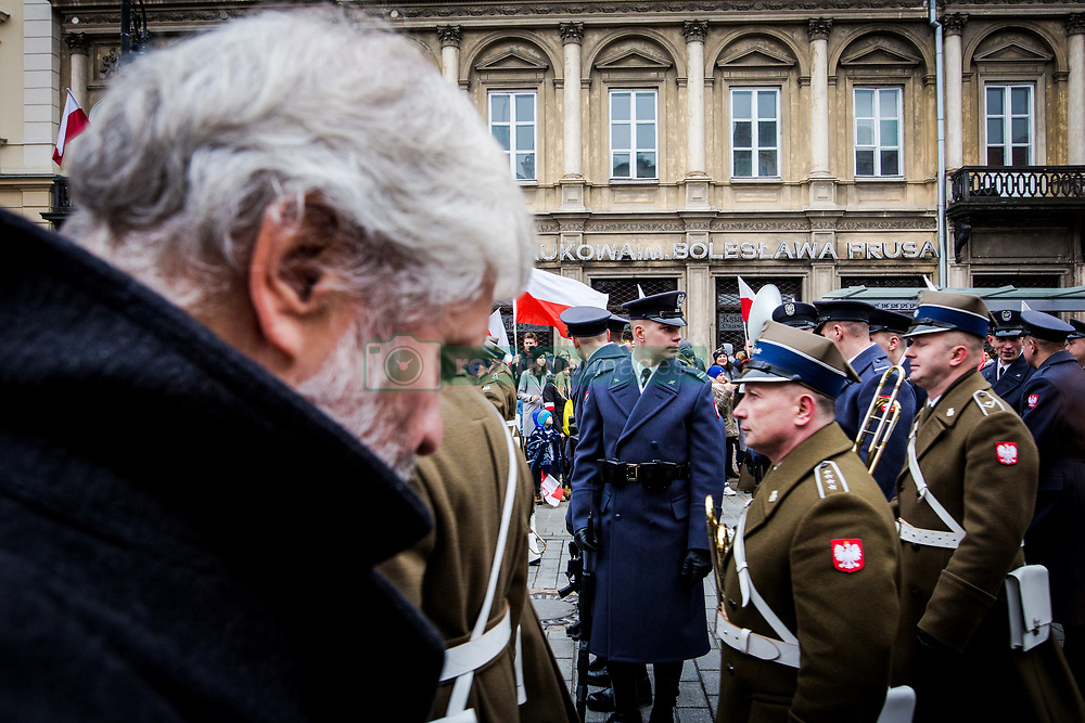 November 11, 2018 - Warsaw, Poland - November 11 is the National Day of Poland since 1937. However, this holiday could only be celebrated twice before the beginning of the Second World War. At the end of the war, the Communists simply suppressed it. In 1989, with the end of the communist period, November 11 was restored as the country's national holiday. (Credit Image: © Sadak Souici/Le Pictorium Agency via ZUMA Press)