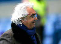 Photo: Tom Dulat.<br /> <br /> Chelsea v Queens Park Rangers. FA Cup Third Round. 05/01/2008. <br /> <br /> Ivestor of Queens Park Rangers Flavio Briatore.