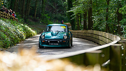 Boness Revival hillclimb motorsport event in Boness, Scotland, UK. The 2019 Bo'ness Revival Classic and Hillclimb, Scotland's first purpose-built motorsport venue, it marked 60 years since double Formula 1 World Champion Jim Clark competed here.  It took place Saturday 31 August and Sunday 1 September 2019. 124. Markus Bewley. Triumph GT6
