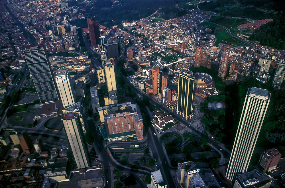 Bogota from the Air