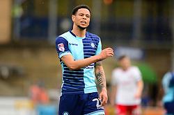 Nathan Tyson of Wycombe Wanderers - Mandatory by-line: Dougie Allward/JMP - 21/04/2018 - FOOTBALL - Adam's Park - High Wycombe, England - Wycombe Wanderers v Accrington Stanley - Sky Bet League Two