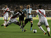 Argentina vs Peru at Boca Juniors