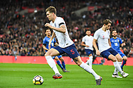 England Defender John Stones (5) in action during the Friendly match between England and Italy at Wembley Stadium, London, England on 27 March 2018. Picture by Stephen Wright.