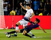 Soccer: FC Barcelona vs Tottenham Hotspur