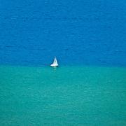 Sailboat on Lake Tahoe