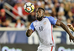 September 1, 2017 - Harrison, NJ, USA - Harrison, N.J. - Friday September 01, 2017:   Jozy Altidore during a 2017 FIFA World Cup Qualifying (WCQ) round match between the men's national teams of the United States (USA) and Costa Rica (CRC) at Red Bull Arena. (Credit Image: © John Todd/ISIPhotos via ZUMA Wire)