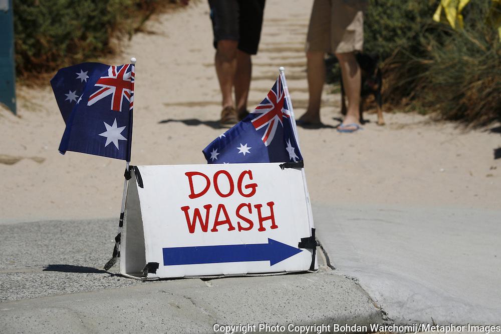 Australia Day photograph at Scarborough Beach Perth West Australia