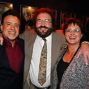 Corrie Konings 35 jaar in vak, George Baker, Arie Ribbens en vrouw Cea
