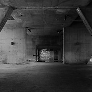 Firminy-Vert, France, Alvernia-Rodano-Alpi: Ground Floor-main entrance- of the Unité d'Habitation, Firminy-Vert - Cité Radieuse (1965-1967) by Le Corbusier arch. Photographs by Alejandro Sala   Visit Shop Images to purchase and download a digital file and explore other Alejandro-Sala images…