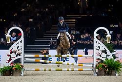 De Neve Auke, BEL, Hutch Thatcher<br /> Jumping Mechelen 2019<br /> © Hippo Foto - Sharon Vandeput<br /> 26/12/19