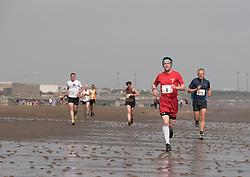 Portobello Beach Run - runners take to the beach on a four mile run acfross the sands at Portobello, organised by Portobello Running Club<br /> © Jon Davey/ EEm