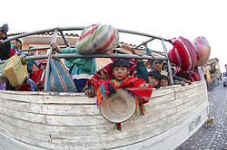 Child On Truck Transport