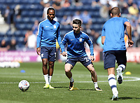 Preston North End's Sean Maguire during the pre-match warm-up <br /> <br /> Photographer Rich Linley/CameraSport<br /> <br /> The EFL Sky Bet Championship - Preston North End v Sheffield Wednesday - Saturday 5th August 2017 - Deepdale - Preston<br /> <br /> World Copyright © 2017 CameraSport. All rights reserved. 43 Linden Ave. Countesthorpe. Leicester. England. LE8 5PG - Tel: +44 (0) 116 277 4147 - admin@camerasport.com - www.camerasport.com