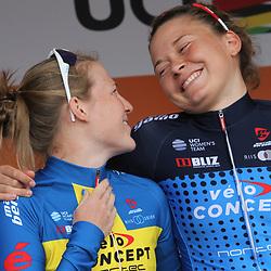 01-09-2017: Wielrennen: Boels Ladies Tour: Weert: Sara Penton: Christina Siggaard