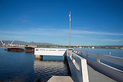 USS Utah Memorial, Ford Island, Pearl Harbor, Oahu, Hawaii