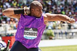 adidas Grand Prix Diamond League Track & Field: mens shot put, O'Dayne Richards, Jamaica