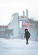Severobaikal Train Station. Siberia, Russia