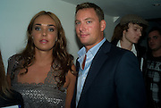 ROB MONTAGUE; TAMARA ECCLESTONE, Elizabeth Arden's 'Eight Hour' party. Kingly St. London. 7 August 2008. *** Local Caption *** -DO NOT ARCHIVE-© Copyright Photograph by Dafydd Jones. 248 Clapham Rd. London SW9 0PZ. Tel 0207 820 0771. www.dafjones.com.