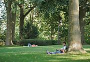 Nederland, Nijmegen, 10-9-2020 De Sint Nicolaaskapel op het valkhof, valkhofpark . Het is een stadspark met de resten van de burcht, palz, van Karel de Grote . De Karolingische kapel deel uitmakend van de verdwenen palz. Foto: ANP/ Hollandse Hoogte/ Flip Franssen