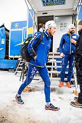 January 2, 2018 - Oberstdorf, GERMANY - 180102 Marcus Hellner of Sweden and Rikard Grip, coach, ahead of a training session during Tour de Ski on January 2, 2018 in Oberstdorf..Photo: Jon Olav Nesvold / BILDBYRN / kod JE / 160117 (Credit Image: © Jon Olav Nesvold/Bildbyran via ZUMA Wire)