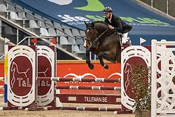Bruyninckx Carlo, BEL, Rocco van't Elzenhout<br /> Pavo Hengsten competitie - Oudsbergen 2021<br /> © Hippo Foto - Dirk Caremans<br />  22/02/2021