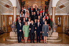 London Diplomatic reception at Buckingham Palace - 8 Dec 2016