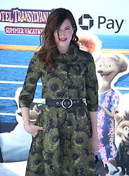 July 1, 2018 - Los Angeles, California, USA - 6/30/18.Kathryn Hahn at the premiere of ''Hotel Transylvania 3: Summer Vacation'' held at the Westwood Village Theatre in Los Angeles, CA. (Credit Image: © Starmax/Newscom via ZUMA Press)