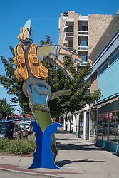 United States, Washington, Bremerton, public art