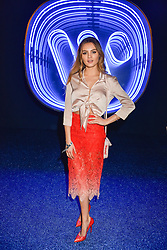 Niomi Smart at the Warner Music & Ciroc Brit Awards party, Freemasons Hall, 60 Great Queen Street, London England. 22 February 2017.
