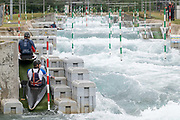 Lee Valley White Water Centre with Team GBs Canoe Slalom Team on the 7th June 2019 in London in the United Kingdom.