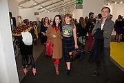 TAMARA CINCIK; MARGOT BOWMAN, opening of the 2010 Frieze art fair. Regent's Park. London. 13 October 2010. -DO NOT ARCHIVE-© Copyright Photograph by Dafydd Jones. 248 Clapham Rd. London SW9 0PZ. Tel 0207 820 0771. www.dafjones.com.