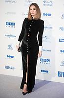 Lily James at the 22nd British Independent Film Awards, Roaming Arrivals, Old Billingsgate, London, UK - 01 Dec 2019