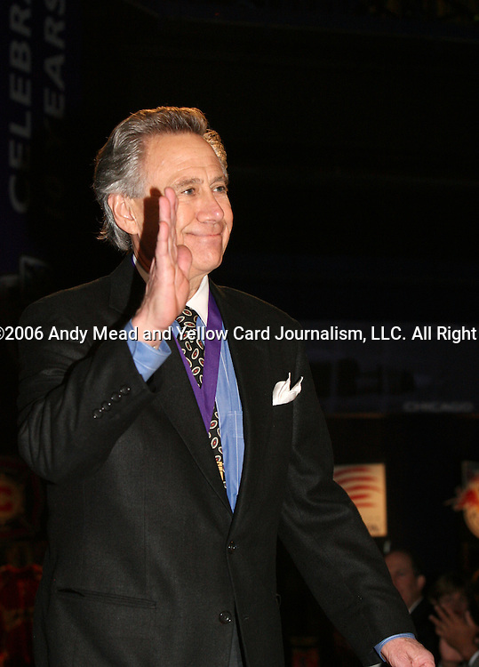 28 August 2006: 2006 inductee Phil Anschutz acknowledges applause as he is introduced prior to the ceremony. The National Soccer Hall of Fame Induction Ceremony was held at the National Soccer Hall of Fame in Oneonta, New York.