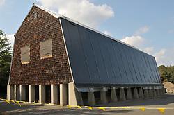 CT-DOT Orange Salt Shed Rehabilitation Project. No. 0106-0123. Construction Progress Views, 4th Photo Shoot