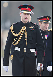 December 14, 2018 - Sandhurst, London, United Kingdom - Image licensed to i-Images Picture Agency. 14/12/2018. Sandhurst , United Kingdom. The Duke of Cambridge at the Sovereign's Parade at the Royal Military Academy Sandhurst, United Kingdom. (Credit Image: © Stephen Lock/i-Images via ZUMA Press)