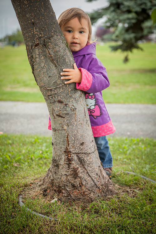 My two year old neighbor Ruth on Anchorage's Delaney Park Strip.  edailey1@yahoo.com