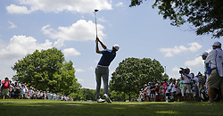 May 25, 2018 - Fort Worth, TX, USA - FORT WORTH, TX - MAY 25, 2018 - second round of the 2018 Fort Worth Invitational PGA at Colonial Country Club in Fort Worth, Texas (Credit Image: © Erich Schlegel via ZUMA Wire)