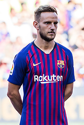 August 15, 2018 - Ivan Rakitic from Croatia during the Joan Gamper trophy game between FC Barcelona and CA Boca Juniors in Camp Nou Stadium at Barcelona, on 15 of August of 2018, Spain. (Credit Image: © AFP7 via ZUMA Wire)