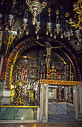 Interior of the Church of the Holy Sepulchre, Jerusalem, Israel