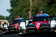June 13-18, 2017. 24 hours of Le Mans. 7 Toyota Racing, Toyota TS050 Hybrid, Mike Conway, Kamui Kobayashi, Stephane Sarrazin, 9 Toyota Racing, Toyota TS050 Hybrid, Jose Maria Lopez, Nicolas Lapierre, Yuji Kunimoto