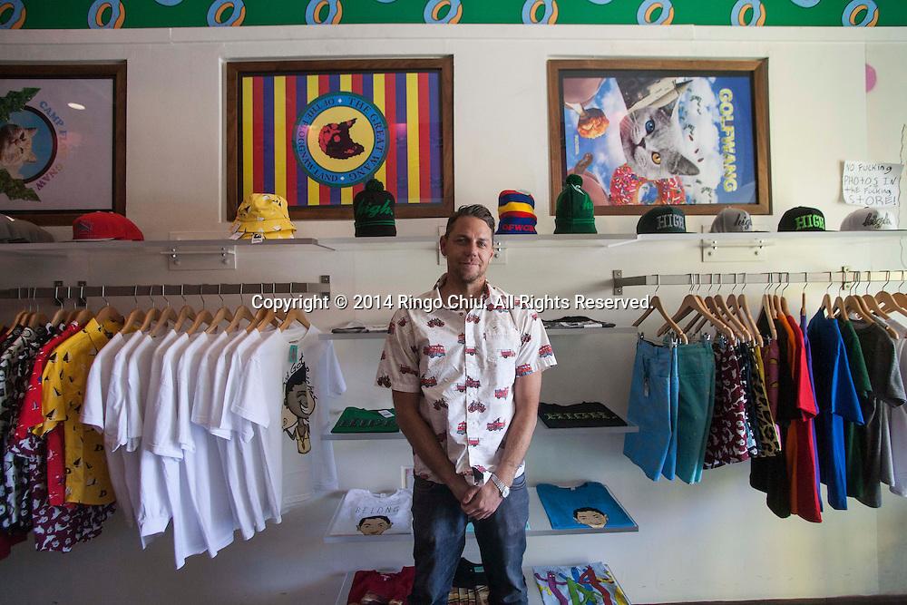 Palmer Brown, founder of Diystro.<br /> (Photo by Ringo Chiu/PHOTOFORMULA.com)