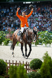 Jeroen Dubbeldam, (NED), Casall Ask - Show Jumping Final Four - Alltech FEI World Equestrian Games™ 2014 - Normandy, France.<br /> © Hippo Foto Team - Becky Stroud<br /> 07/09/2014