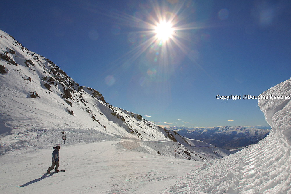 Remarkables Ski Area, Queenstown, South Island,  New Zealand