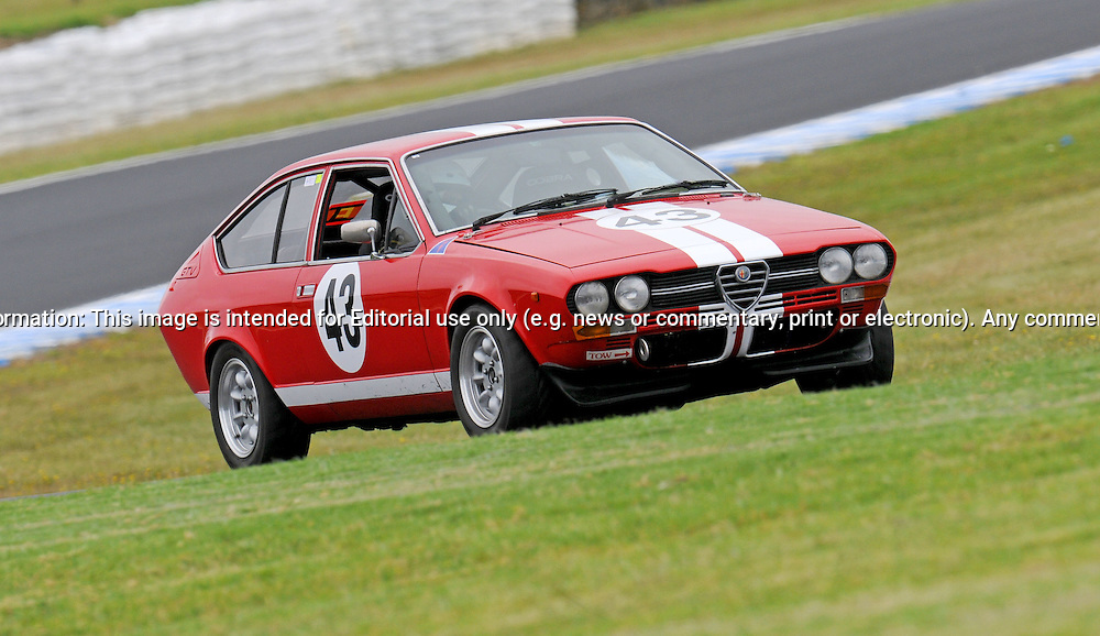 Hung Do - Alfetta GTV.Historic Motorsport Racing - Phillip Island Classic.18th March 2011.Phillip Island Racetrack, Phillip Island, Victoria.(C) Joel Strickland Photographics.Use information: This image is intended for Editorial use only (e.g. news or commentary, print or electronic). Any commercial or promotional use requires additional clearance.