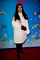 Cara Delahoyde at the CBeebies Christmas Show Hansel and Gretel, Cineworld Leicester Square, London. 24.11.19