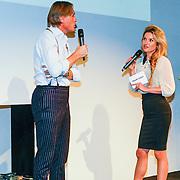 NLD/Amsterdam/20131014 -  Marie Claire Starters Award 2013, Jort kelder en Lauren Verster