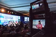 Helen Zhu, Managing Director and Head, China Fundamental Equities, BlackRock, Hong Kong SAR, China during the session: China's Financial Opening at the World Economic Forum - Annual Meeting of the New Champions in Tianjin, People's Republic of China 2018.Copyright by World Economic Forum / Greg Beadle