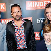 NLD/Amsterdam/20181025 - Inloop Victor Mids Live, Gerard Ekdom en partner Nicole Smits samen met hun kinderen Lennon en Lewis