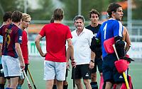 WASSENAAR - training HGC HI , olv, de nieuwe coach , Paul van Ass, voor het nieuwe hockey hoofdklasse. COPYRIGHT KOEN SUYK