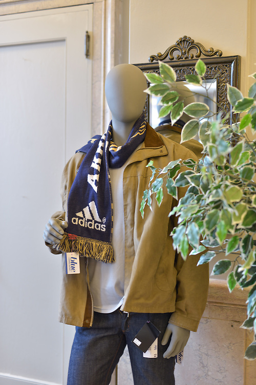 Men's clothing available at blue boutique in Downtown Akron
